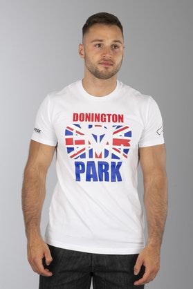 T-Shirt Dainese Donington D1 Biały