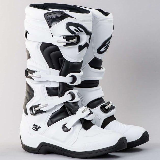 a3c41c43b932 Alpinestars Tech 5 MX Boots White-Black - Now 4% Savings - 24mx.ie