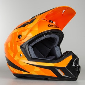 Kask HJC CS-MX II Dakota Czarno-Pomarańczowy