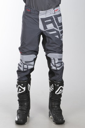 Acerbis X-Flex Black Fire MX Trousers Black-Grey