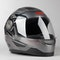 IXS 135 2.0 Kids Integral Helmet Grey-Black-Red