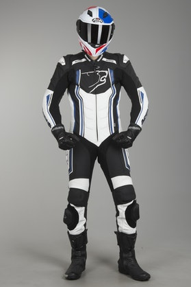 Bering Supra-R Leathers Black-White-Blue