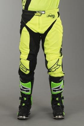 Spodnie Cross AXO Motion 4 Czarno-Żółte