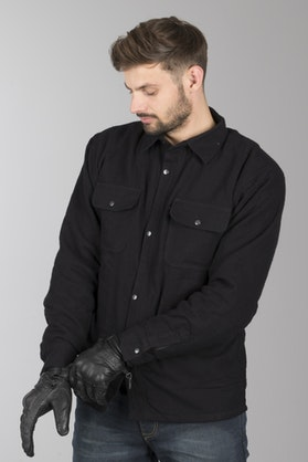 Course Full Aramid® Flannel Shirt Black