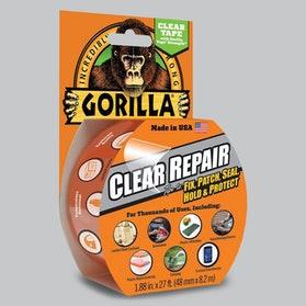 Gorilla Clear Repair Tape - Clear - 8.2m x 48mm