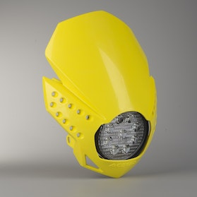 Acerbis LED Fulmine Front Lamp Yellow