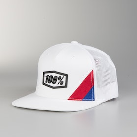 100% Trucker Cap White/Black