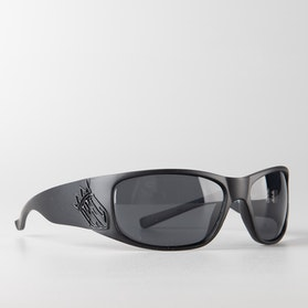 West Coast Choppers CFL Choppers For Life Smoky Sunglasses Matte Black