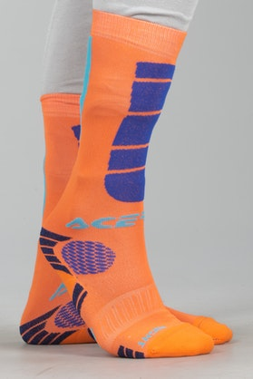 Acerbis Impact Youth Socks Orange-Blue
