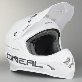 Kask cross O'Neal 3-Series Solid Biały