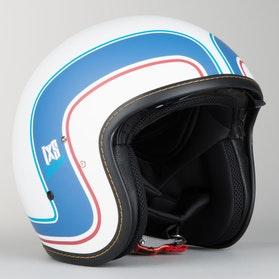 IXS HX 78 Indiana Helmet White-Blue