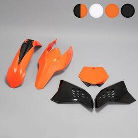 Komplet plastików Rtech Pomarańczowo-Czarny