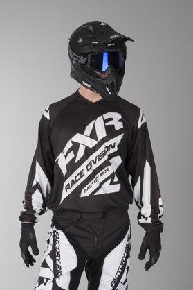 Bluza Cross FXR Clutch Czarno-Biała
