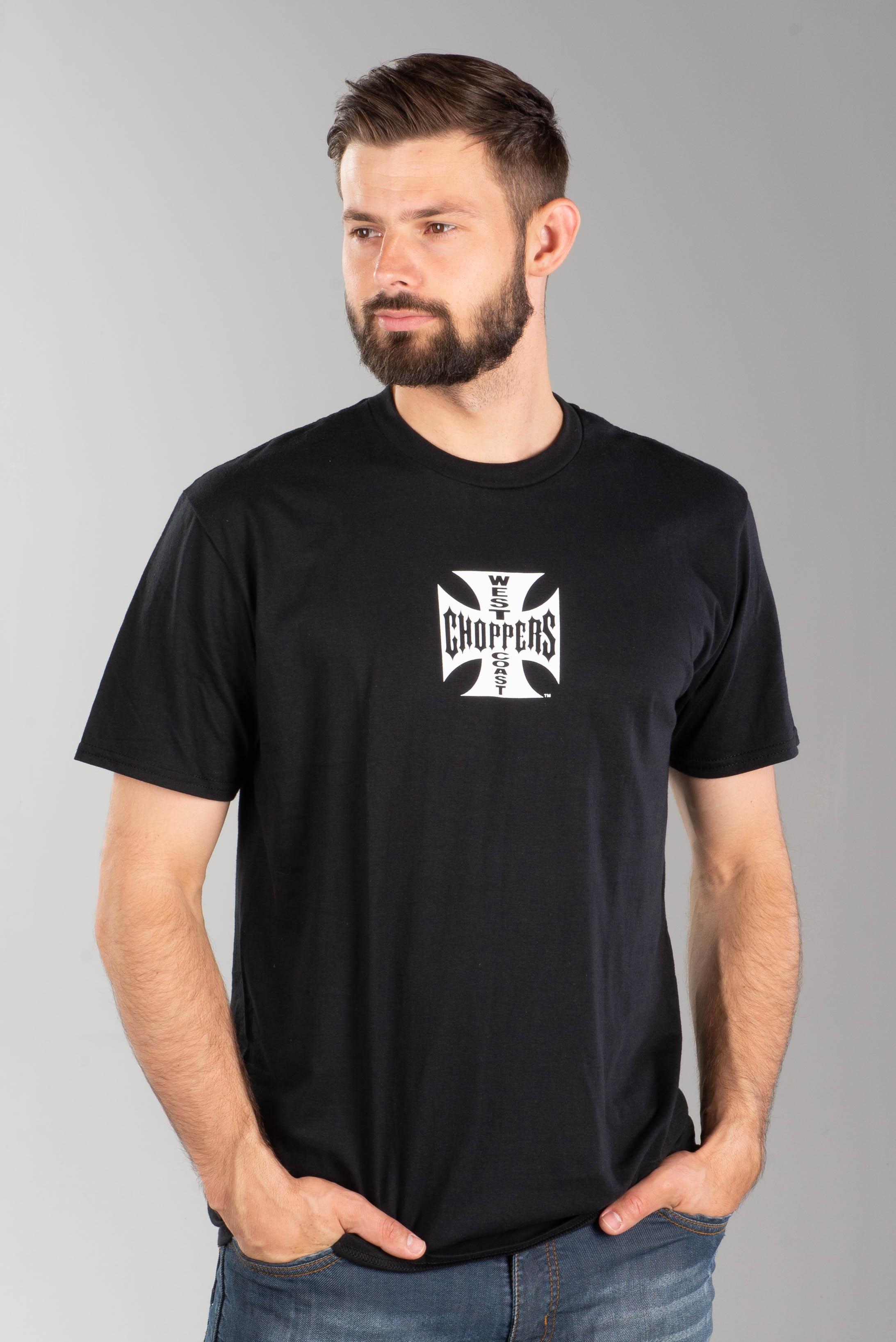 Poubelle Band Logo Plein Coton Noir T Shirt.