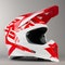 Kask Cross Acerbis X-Racer VRT Czerwono-Biały