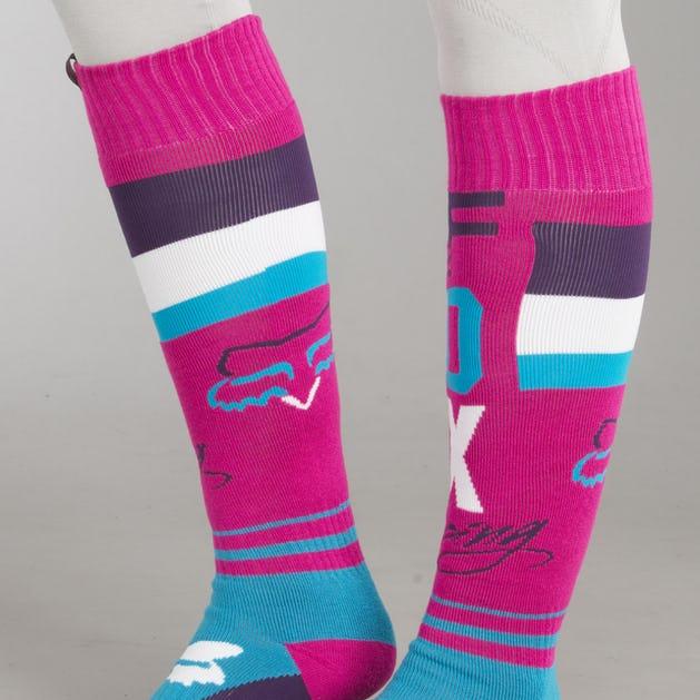 Ponožky Fox Fri Rohr Thin Fialové