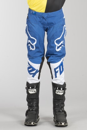 Fox 180 MX 18 Race Kids MX Trousers Blue