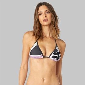 Fox Momentum Triangle Bikini Top Pink