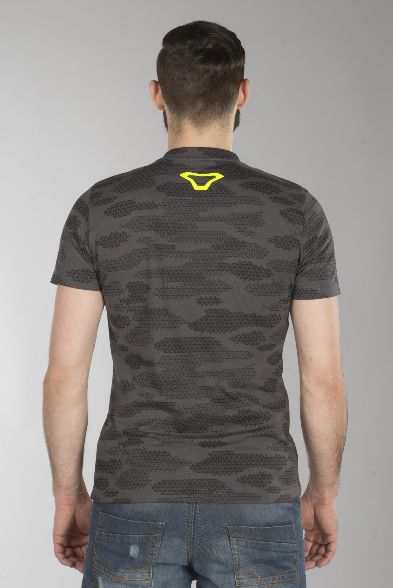 skjorte svart gul