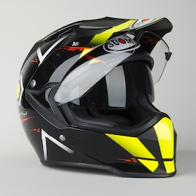 Kask Suomy MX Tourer Road Żółty