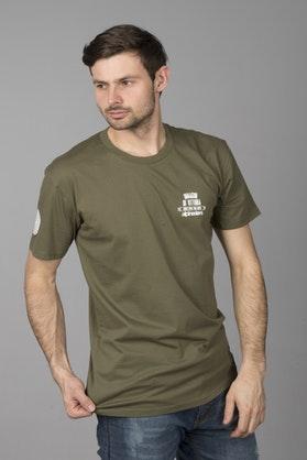 T-Shirt Alpinestars Fluid Premium Zielony Wojskowy