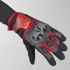 IXS Tour LT Montevideo Air Gloves Black-Grey-Red