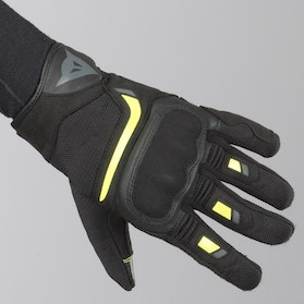 Dainese Air Master Gloves Black-Yellow