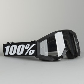 100% Strata Youth Goggles Black