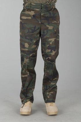 Kalhoty Brandit US Ranger Hose Woodland