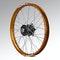 Talon Front Wheel Black-Orange