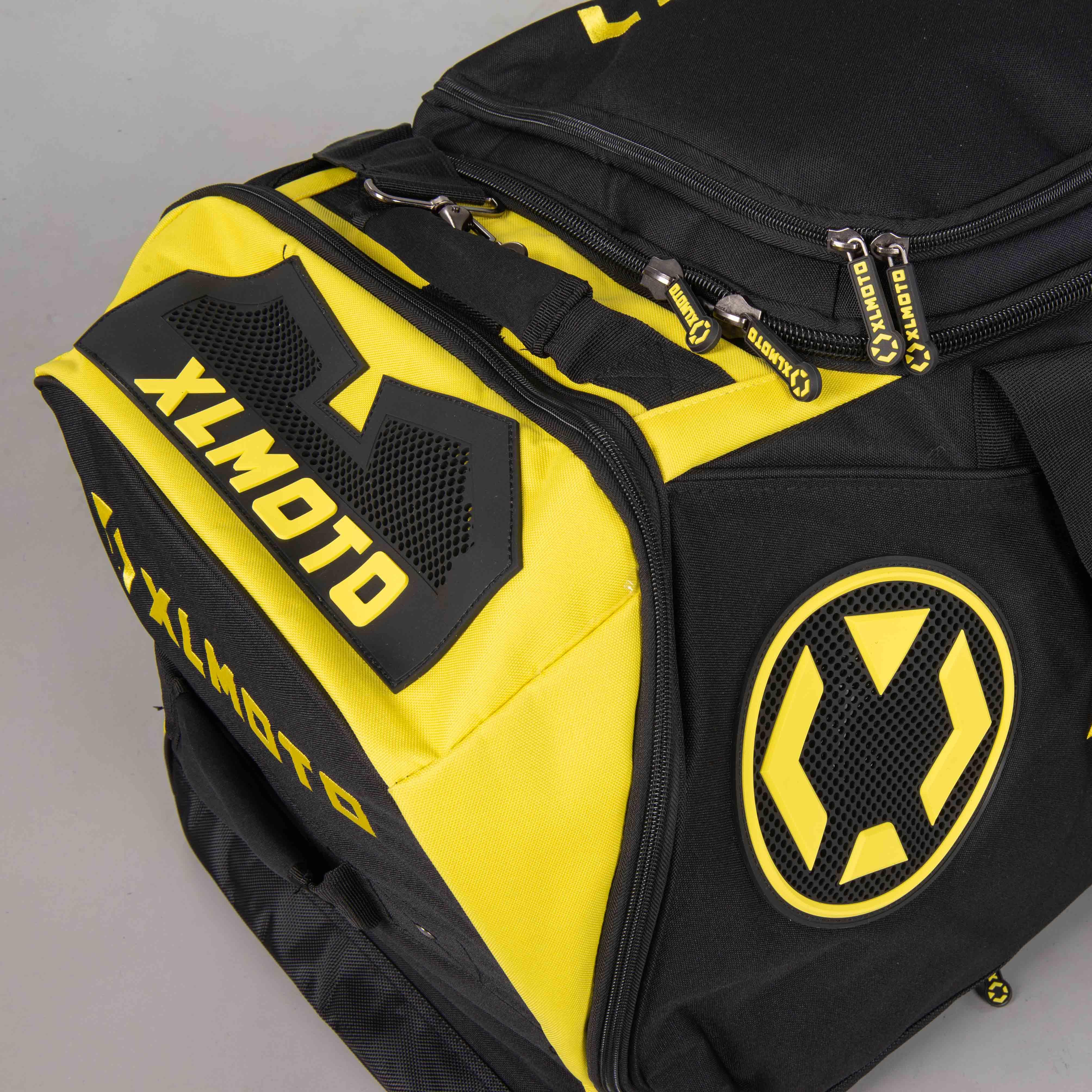 XLMOTO Gearbag Yellow Black
