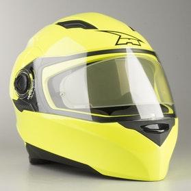 Kask Integralny AXO RS01 Mono Żółty