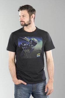 VR46 Dual Gopro T-Shirt Gray