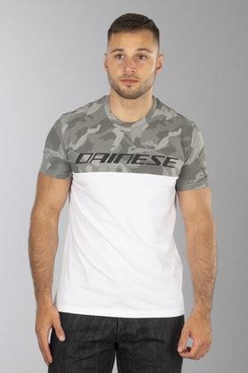 T-Shirt Dainese Moro Szary-Biały