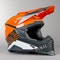 Acerbis X-Racer VRT MX Helmet Orange-Grey