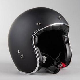 RXA Rivoli Open Helmet Matte Black