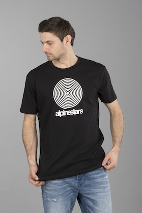 T-Shirt Alpinestars The Spiral Prem. Tee Czarny