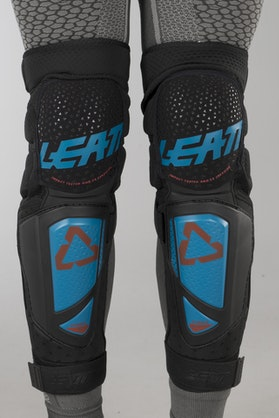 Chrániče Kolen Leatt 3DF Hybrid EXT Modré-Černé