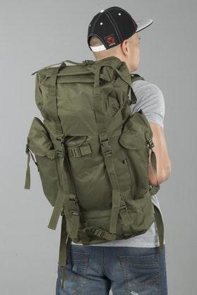 Brandit Nylon Backpack - Olive
