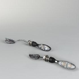 Blinkry/Zadní světla Kellermann Micro 1000 DF Chróm