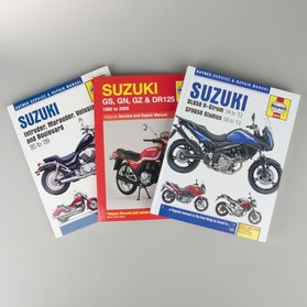 Haynes Suzuki Repair Manual (search by model)