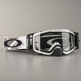 Gogle Cross Oakley Front Line MX Białe Matowe Speed Clear