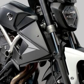 Panel Boczny Chłodnicy Puig Yamaha Czarny Mat