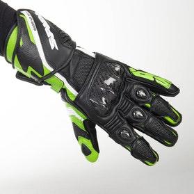 Rękawice Spidi Carbo 5 Czarno-Zielone
