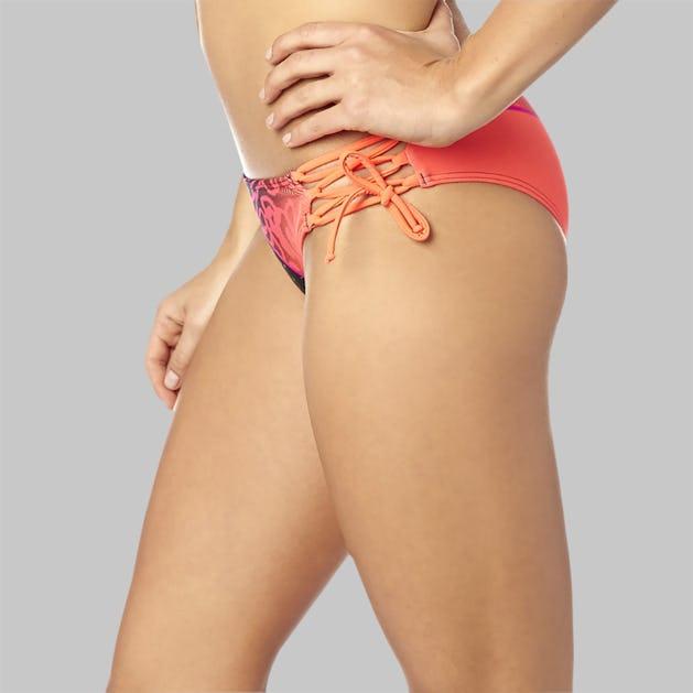 Bikinitrusser Fox Chargin Lace Up, Pink