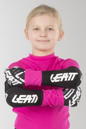 Leatt 3DF 5.0 Kids Elbow Protection White-Black