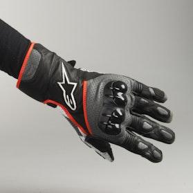 Rękawice Alpinestars SP-2 V2 Czarno-Szaro-Fluorescencyjno Czerwone