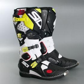 Boty Crossfire 2 MX Bílé/Černé/Žluté