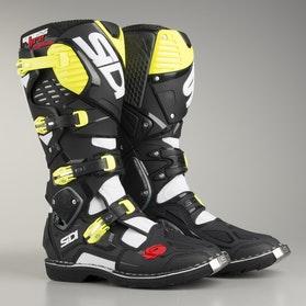 Buty Sidi Crossfire 3 Czarno-Żółto Fluorescencyjne