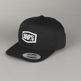 100% Youth Corpo Cap Black